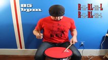 3 GREAT Drum Rudiments for Drum Solos - Part 1