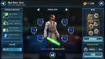 Star Wars Galaxy Of Heroes How to MOD Qui-Gon Jinn