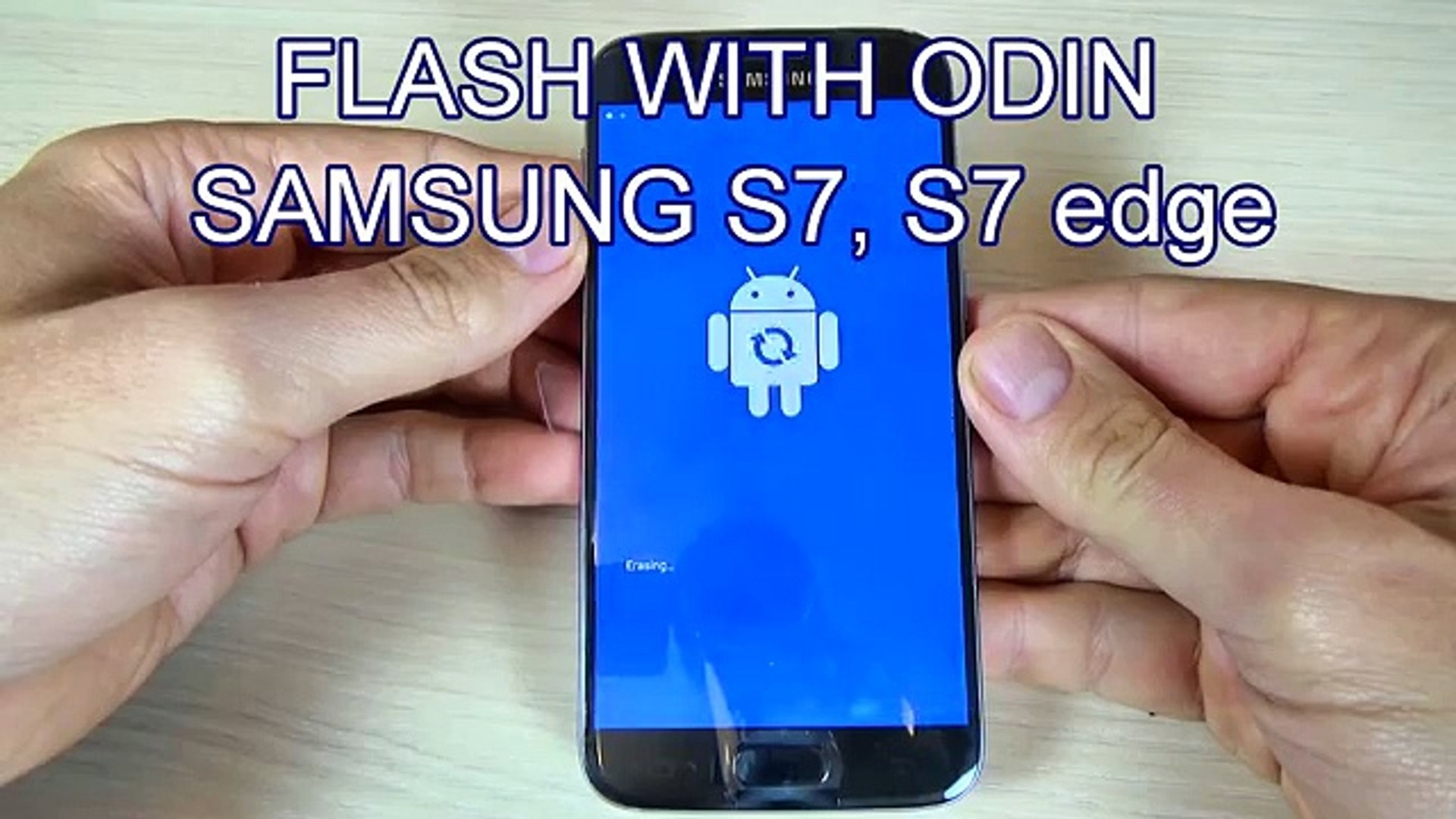 Install/ Flash Firmware on Samsung Galaxy S7, S7 edge with Odin