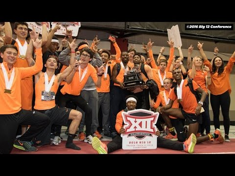 2016 Big 12 Indoor Track and Field Championship – Men's Dramatic Finish!