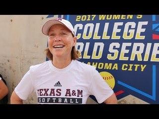 Texas A&M Softball Head Coach Jo Evans Shares Secret To Epic Postgame Speeches