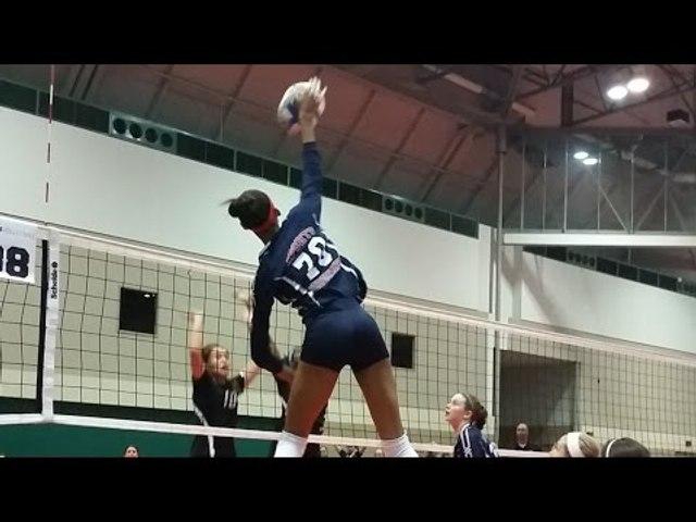 Taylor Landfair   Rising Volleyball Star