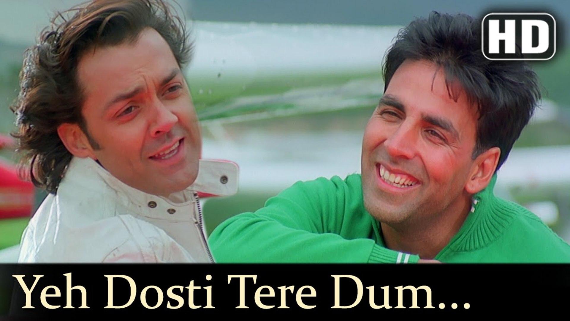 Yeh Dosti Tere Dum Se (Full HD Song) Dosti (2005)   Akshay Kumar   Bobby Deol   Udit Narayan   Sonu
