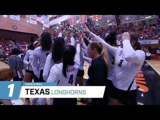 Texas Volleyball #1 in 2017 NCAA Preseason Rankings