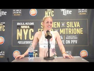 Bellator 180: Heather Hardy Post-Fight Interview In NYC: I'm Falling in Love with MMA