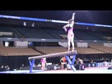 Katelyn Ohashi, Beam Routine - 2013 AT&T American Cup Training