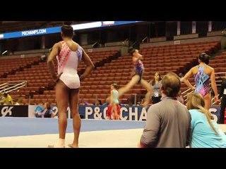 Junior Elites Tumbling - 2017 P&G Championships Podium Training