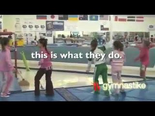 When kids take gymnastics in the same gym as Nastia Liukin