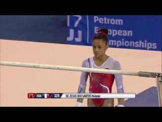 Melanie De Jesus Dos Santos, France - Bars - 2017 European Championships