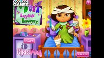 Dora Hospital Recovery - Cartoon Game for Kids in Emergency Room - Dora The Explorer Episodes