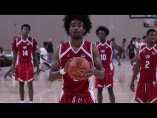UNC COMMIT COBY WHITE IS A BUCKET GETTER FOR TEAM CP3 (PROSPECT PASS)