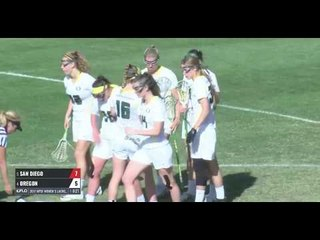 Highlights from San Diego vs. Oregon | MPSF Women's Lacrosse Championships