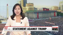Pyongyang sends open letter to nations to denounce Trump's UN remarks