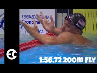 Chase Kalisz's 1:56.72 200 Butterfly
