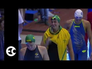 Cate Campbell Cruises 24.84 50 freestyle | 2017 Energy For Swim