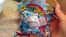 ウルトラマンのバスボール!ウルトラセブンのフェイスパック、クッキー、ゴモラの指人形であそぶ【こうちゃん】Ultraman expo souvenir!