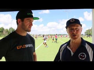 Phil Beck At Houston Strikers Combine