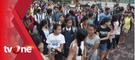 Tanpa Seragam Sekolah, Puluhan Anak-anak Pengungsi Gor Sweca Pura Mulai Bersekolah