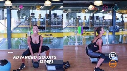 تمارين لشد الأفخاذ مع ميرا   | 3  Thighs Workout Exercises