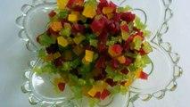 HOW TO- make Tutti frutti in natural colors|Candied papaya|Homemade Tutti frutti recipe