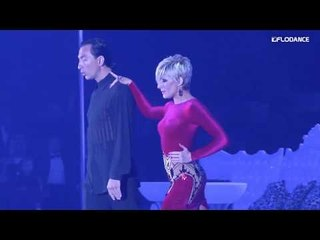 Michael and Joanna at Millennium Dancesport Championships 2017 Show of Shows