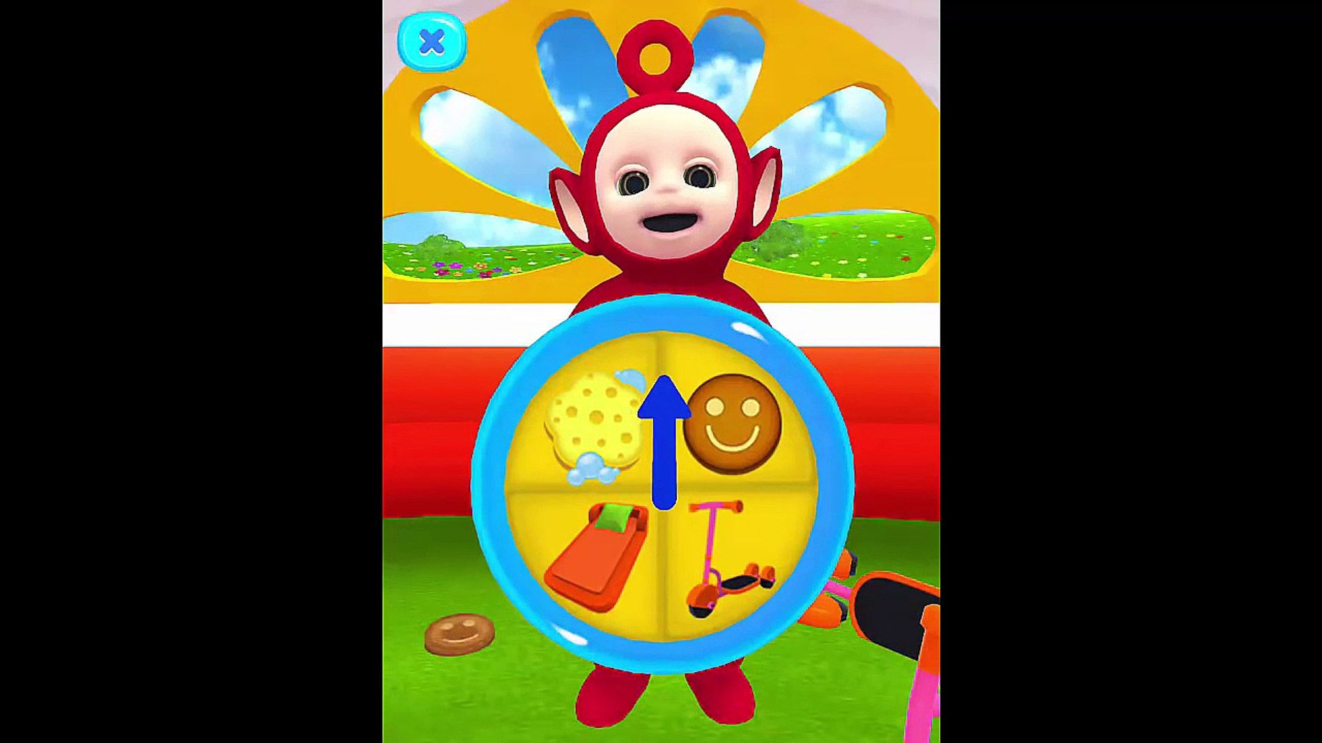 Daily routine for children with PO - Teletubbies HD- play with PO