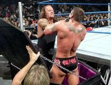 the Undertaker vs Bob Orton jr & Randy Orton Casket match - WWE No Mercy 2005