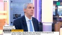 Ordonnances Macron, champagne pour les patrons? La question qui fâche du HuffPost au patron de l'UIMM sur Franceinfo