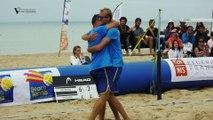 Beach Tennis, championnats de France 2017 : l'Essonne triomphe chez les hommes