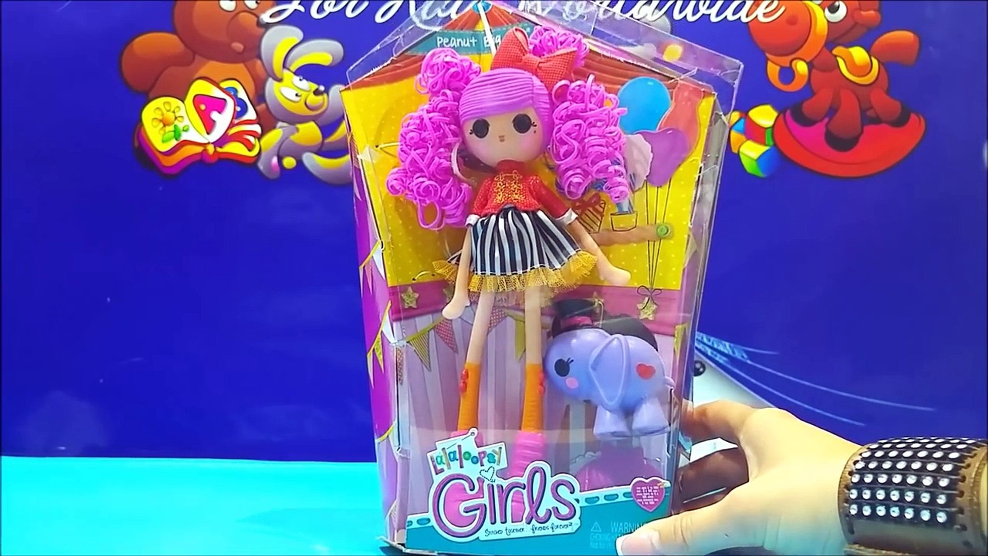 Lalaloopsy Girls Peanut Big Top Doll Toy Videos ★ Cute Lalaloopsy Girl Doll For Girls Worldwide