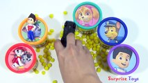 PAW PATROL Play Doh Cans Tubs Dippin Dots Frozen Minions PVZ Toys Learn Colors Surprise Toys
