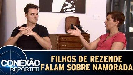 Filhos de Marcelo Rezende falam sobre a namorada do pai