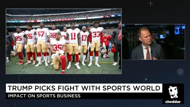 NJ Devils President on the NFL Protests