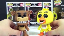FNAF GAMING FIVE NIGHTS AT FREDDYS Funko Pop Full Set Bonnie, Foxy, Toy Chica