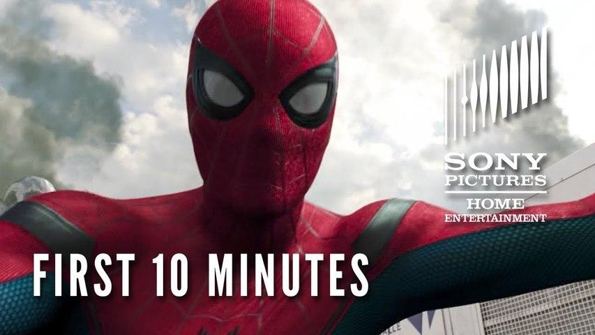 Spider-Man: Homecoming - First 10 Minutes   SuperheroNews com