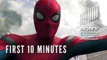 Spider-Man: Homecoming - First 10 Minutes | SuperheroNews.com