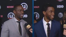EXCLUSIVE: Chadwick Boseman and Sterling K. Brown Play Coy on Co-Starring in 'Black Panther'