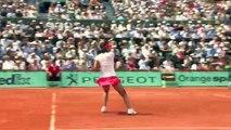 Schémas terre battue Tennis féminin Haut niveau