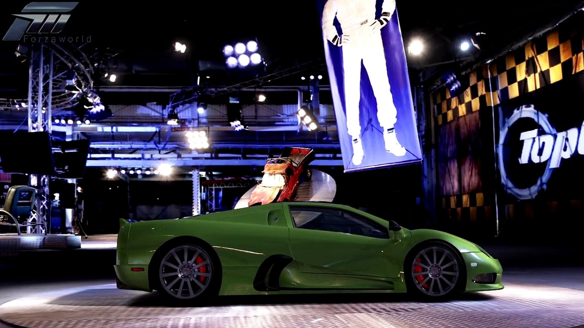 Forza 4 - SSC Ultimate Aero - Power Lap Time - Top Gear EP 18
