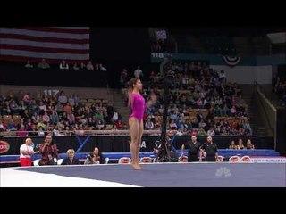 Alexandra Raisman - Floor Exercise - 2010 Tyson American Cup
