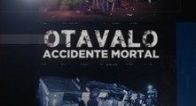 Últimos informes del accidente de un bus en Otavalo, provincia de Imbabura