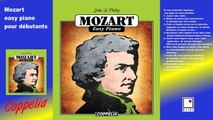 Mozart easy piano - Partitions pour débutants