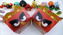 2016 McDONALDS ANGRY BIRDS ACTION THE ANGRY BIRDS MOVIE HAPPY MEAL BOX #2 RED FREE BIRD CODE TOYS