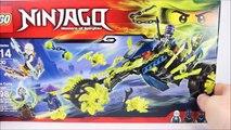 LEGO® Ninjago Chain Cycle Ambush 70730 Speed Build w/ Zane Wrayth & Ghost Warrior Pyrrhus