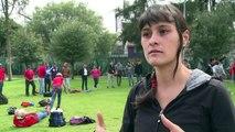 Socorristas capacitam voluntários no México para evitar caos