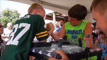 Armwrestling 2016   Minnesota State Championships   Kids Matches