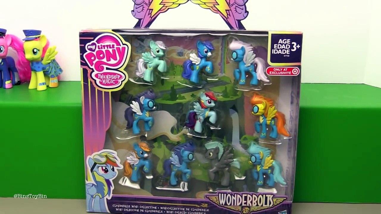 My Little Pony Blind Bag RAINBOW DASH Mini Friendship is Magic Wonderbolts Set