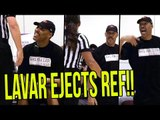 Lavar Ball EJECTS REF & Tries To FORFEIT AGAIN! Then Gets EJECTED & Refuses To Leave!
