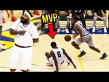 Drew League MVP Gets DROPPED & IMMEDIATELY Gets Revenge! Back-To-Back MVP Shows Why He's MVP!
