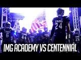 3RD STRING QB vs IMG POWERHOUSE! #3 IMG Academy vs #6 Corona Centennial FULL HIGHLIGHTS